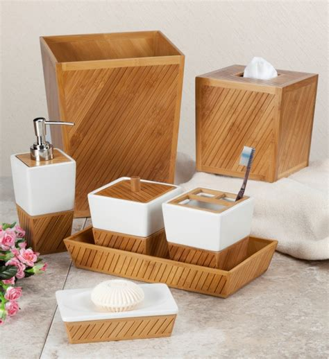 Teak Bathroom Accessories Spa Bamboo Teak Bathroom Accessories By Creative Bath Townhouse Linens