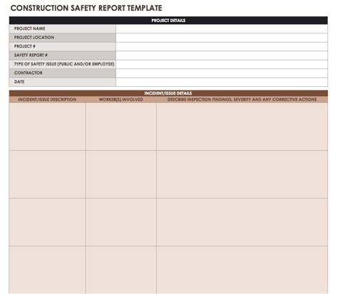 Daily Inspection Report Template