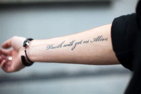 tattoo arm text alive arm arm tat arm tattoo cool image 259961 on