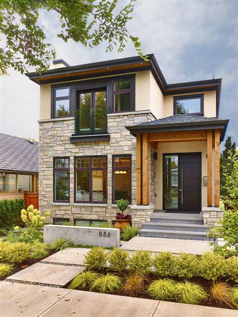 exterior home color trends modern interiors beautiful 现代200平小别墅外观效果图 土巴兔装修效果图