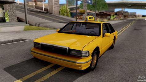 Auto Taxi by Taxi New Texture For Gta San Andreas