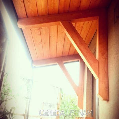ingressi in legno ingressi e pensiline in legno in monza brianza cereda