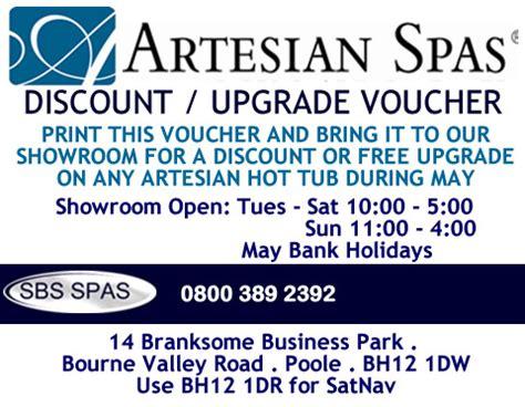 discount vouchers waiwera hot pools sbs spas hot tub showroom details