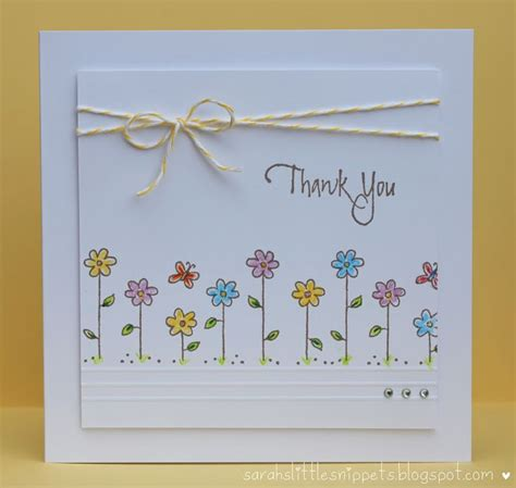 Easy Handmade Thank You Cards - best 25 thank you cards ideas on thank you