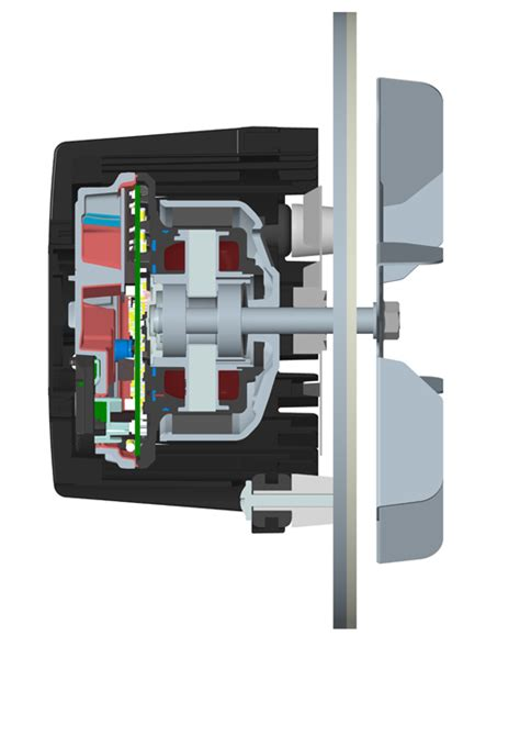 induced draft fan motor compact quiet and reliable mag