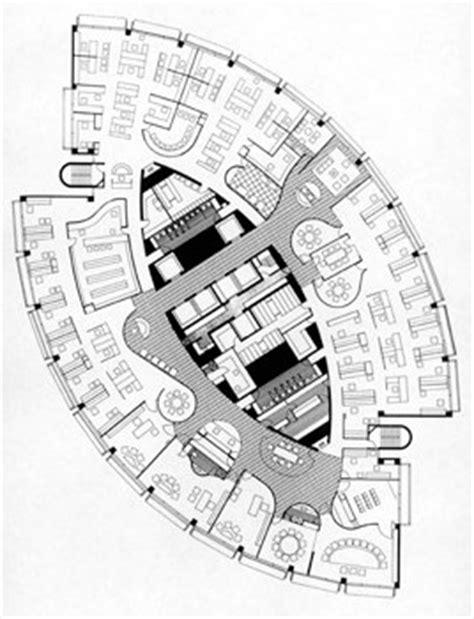 Floor Plan Of An Office Grosvenor Place Sydney