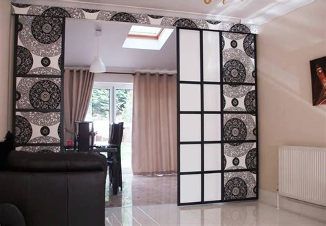 curtain as room divider how to make curtain room dividers best decor things