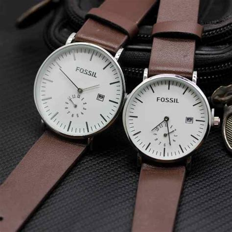Fossil 3 2cm Kulit jam tangan fossil delta jam tangan