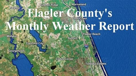 Flagler County Records Search Flagler County Rainfall And Climate Report