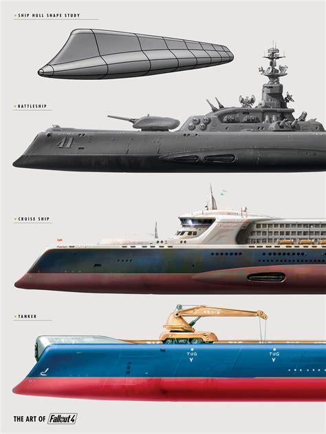 ark raid boat designs the art of fallout 4 watermelon83