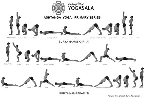 ashtanga poses chart simple poses chart new calendar template site