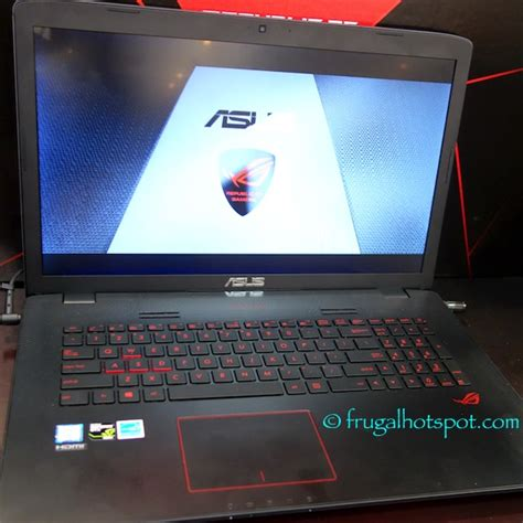 Asus Gaming Laptop Costco costco sale asus rog gl752vw 17 3 quot gaming laptop 999 99 frugal hotspot