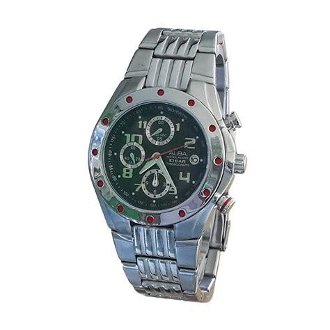 Jam Tangan Chrono Pria Rip Curl Colorado Rolex Digitec Guess harga alba 160630 chronograph jam tangan pria silver pricenia