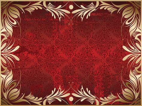 Superior Burgundy And Gold Christmas Ornaments #4: Golden-Floral-Frame-Background.jpg