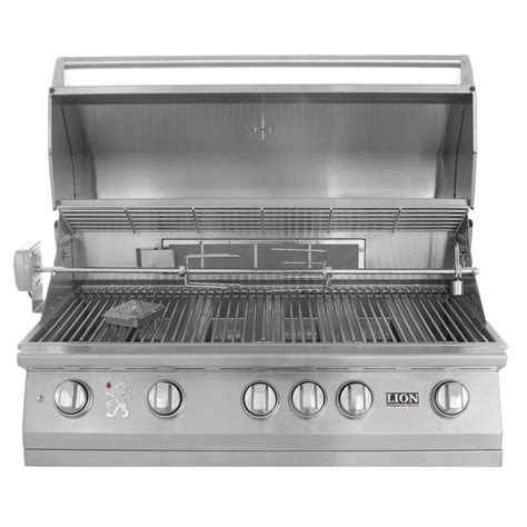 backyard grill gas grill lion 40 inch built in gas grill l90000 stainless steel