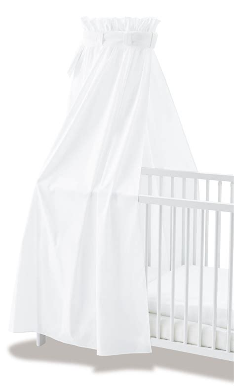 ciel de lit b 195 169 b 195 169 voile blanc coton pinolino ciel de