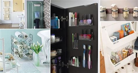 organizing bathroom ideas genius bathroom organizing tricks picture bathroom