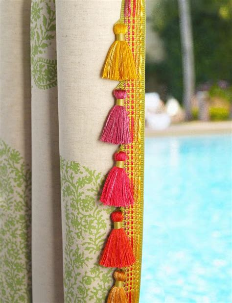 tassel trim for curtains 58 best images about tassels and trim on pinterest