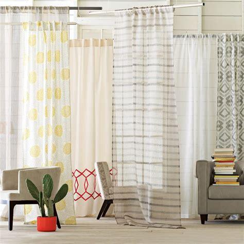 sheer linen shower curtain west elm bullseye rug sheer linen window panel sheer