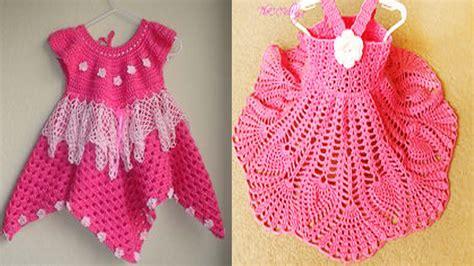 vestidos de tejido para nias imagenes hermoso vestidos de ni 241 a tejidos en crochet dise 241 os youtube