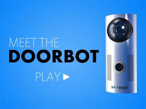 Door Bot by Technology Smartphone And The Stand On