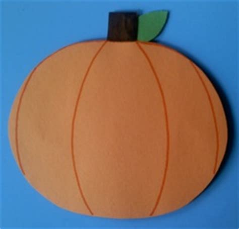 How To Make A Pumpkin With Construction Paper - fall crafts for preschoolers pumpkin crafts owl crafts