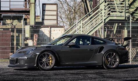 Porsche 911 Gt3 Rs Grey by Epic Edo Porsche 991 Gt3 Rs In Slate Grey
