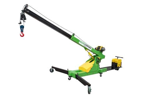 roof top mini crane hoist portable construction lifting mini cranes spider cranes
