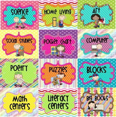 printable classroom area signs 17 best images about classroom bulletin board ideas on