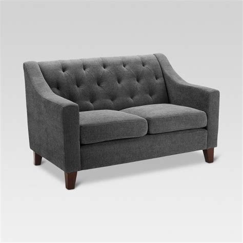 felton tufted sofa threshold felton tufted loveseat threshold target