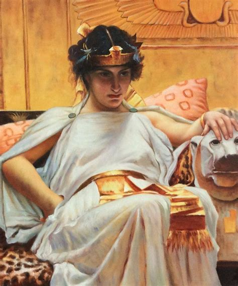 by john william waterhouse cleopatra waterhouse cleopatra 1888 reproduction oil paintings