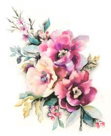 best 25 watercolor flower tattoos ideas only on pinterest