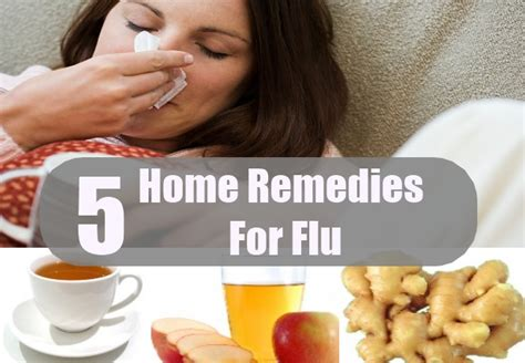 flu home remedies treatments and cure usa uk