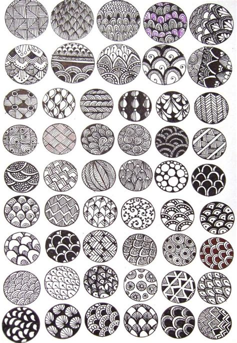 pattern drawing design exles of zentangle project zentangles doodles and