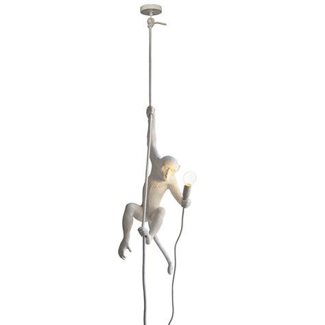 swinging lights buy seletti monkey l swinging white amara