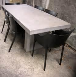 Concrete Outdoor Dining Table Koko Classics April 2012