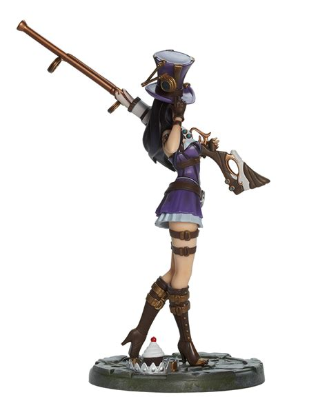 caitlyn the riot merch caitlyn statue statues collectibles