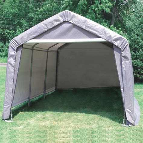 Shelter Garage In A Box by Shelter Logic Garage In A Box 12 X 20 X 8 Review