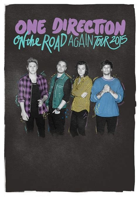 One Direction Tour Artist Kaosraglan 4 one direction appear detached in new photo as