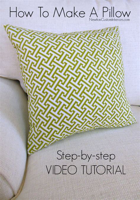 How To Make A Throw Pillow Without A Sewing Machine by 85 How To Make Throw Pillows Without A Sewing Machine