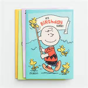peanuts birthday 12 boxed cards dayspring