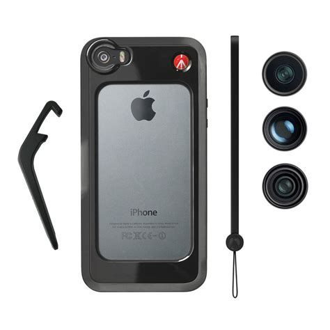 manfrotto klyp for iphone 5 5s with fisheye mkoklyp5s b h