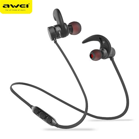 Awei Smart Wireless Headset Earphone N3 awei a920bls bluetooth earphone a920bl pro wireless headphone sport headset auriculares cordless