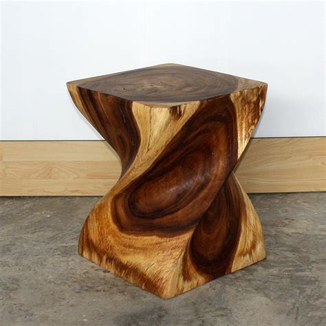 Apple Decor For Home by End Table Big Twist Natural Wood Furniture Grey Oak Walnut