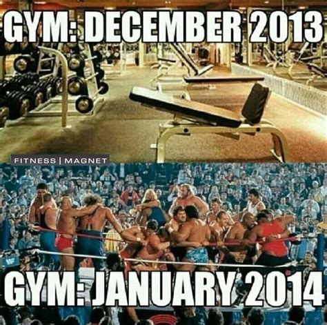 New Years Gym Meme - new years resolutions fitness survival guide