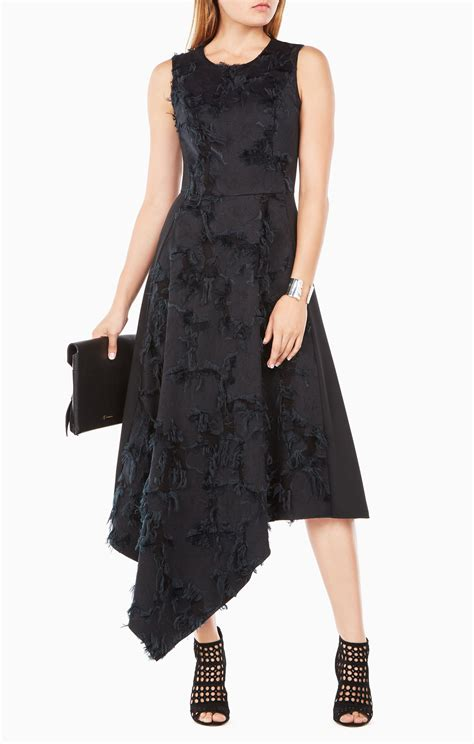 Thesa Dress lauretta eyelash jacquard dress