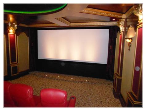 home theater drapes media room curtains room ornament