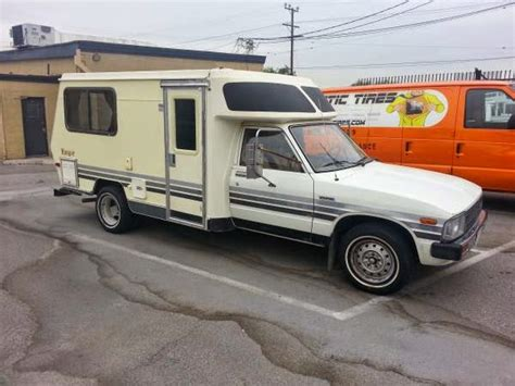 Toyota Motorhome For Sale By Owner Used Rvs 1983 Toyota Ranger Rv For Sale By Owner