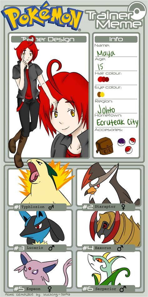 Pokemon Trainer Red Meme - pokemon trainer meme by naotoshirogane1 on deviantart