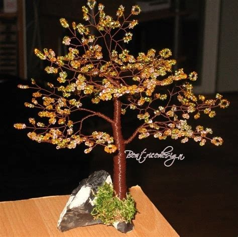 how to make a beaded tree beaded tree make your own 183 how to make a wire tree 183